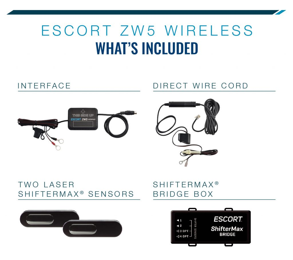 Escort ZW5 package