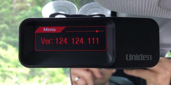 Uniden R7 firmware 1.24