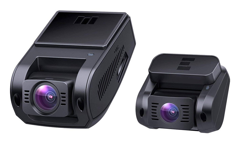 Aukey 2ch Dashcam for Prime Day