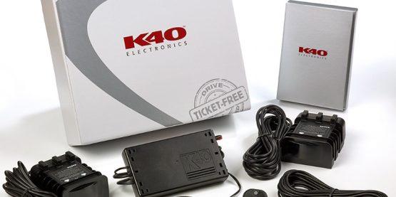 K40 RL360di radar detector