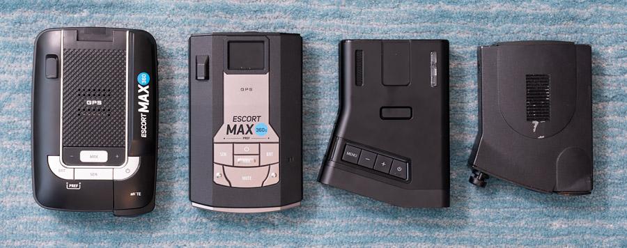 Max360, Max360c, R7, V1 size comparison
