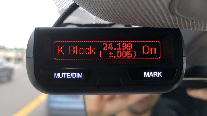 K Block on the Uniden R3