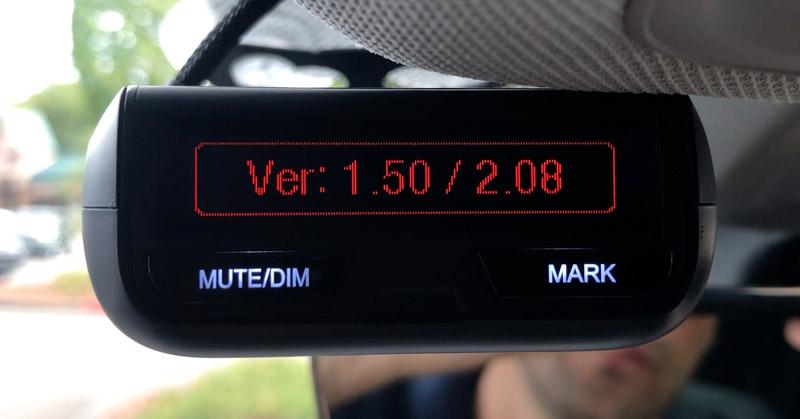 Uniden R3 running firmware 1.50
