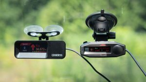 Uniden R7 and Escort Max 360c alerting to Ka 34.7 ahead