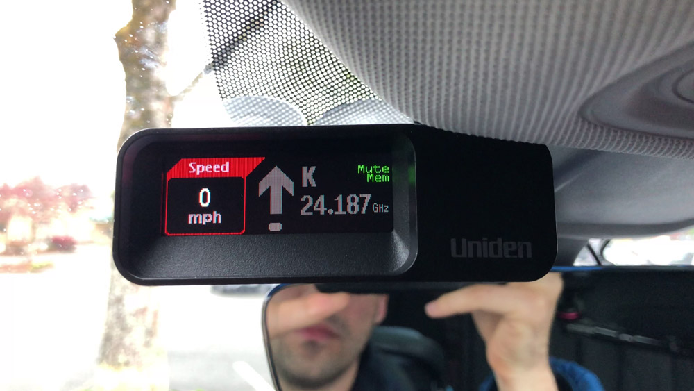Uniden R7 locked out signal