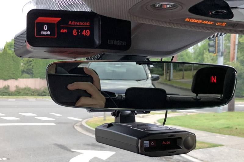 Uniden R7 and Escort Max 360c