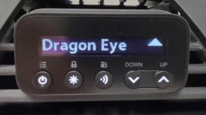 Radenso RC M alerting to DragonEye ahead