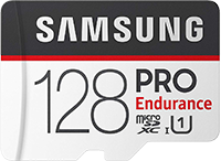 Samsung 128gb Pro Endurance MicroSD Card for 13% Off