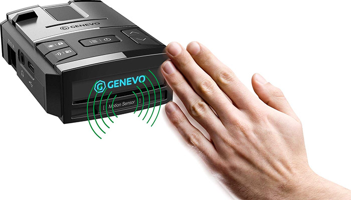 Genevo Max motion sensor with hand wave