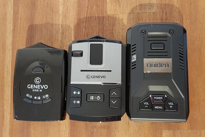Genevo One M, Genevo Max, & Uniden R3