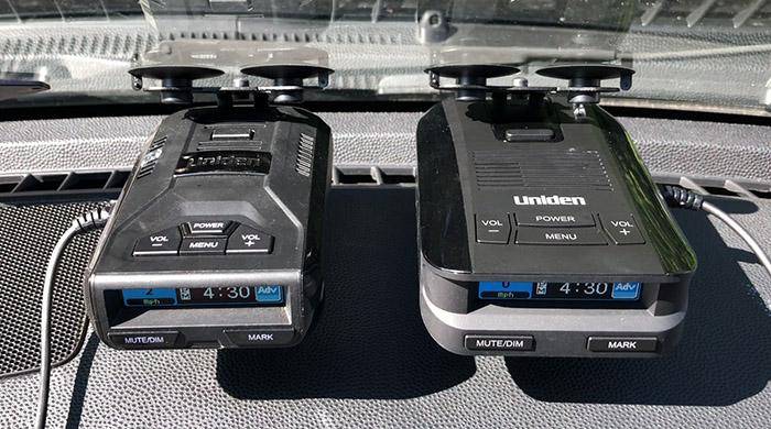 Uniden R3 and Uniden DFR9