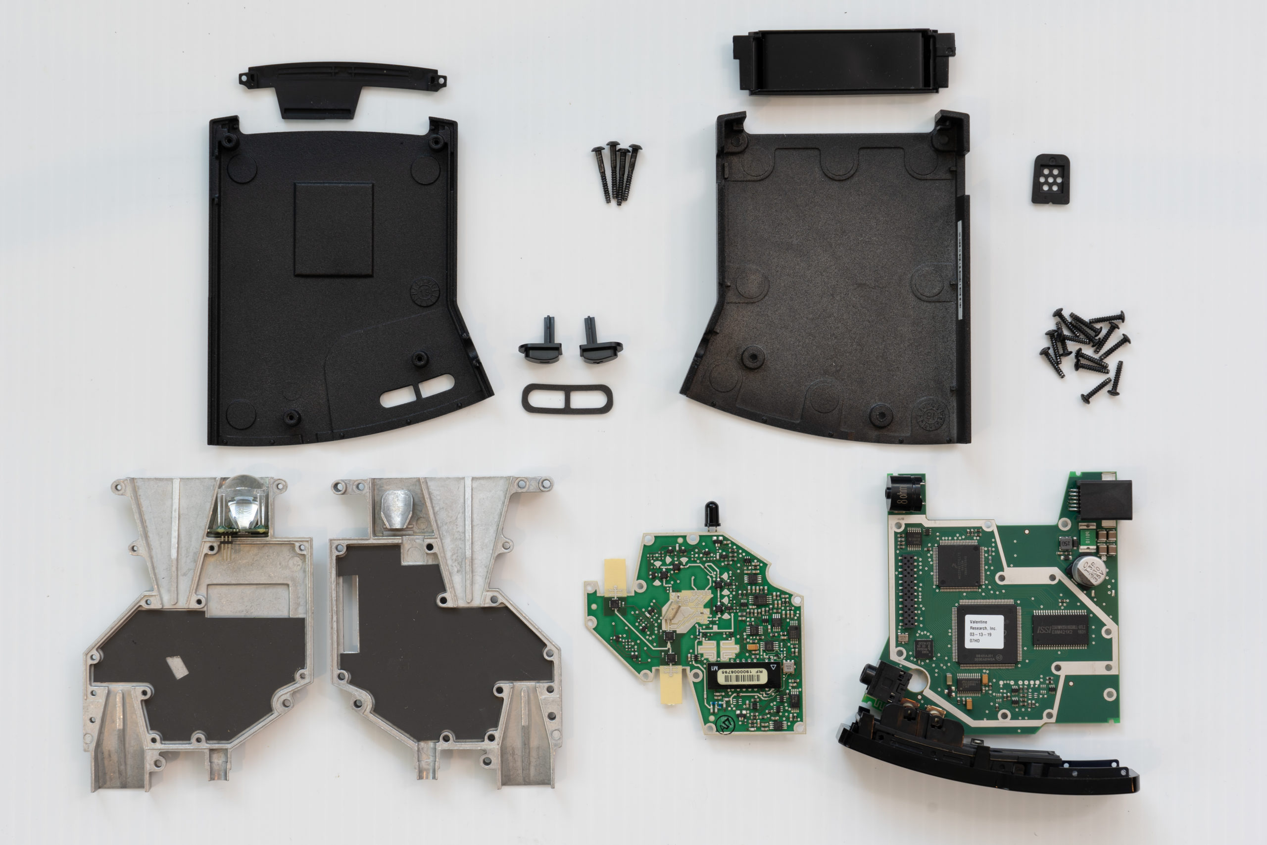 V1 Gen2 Parts laid out