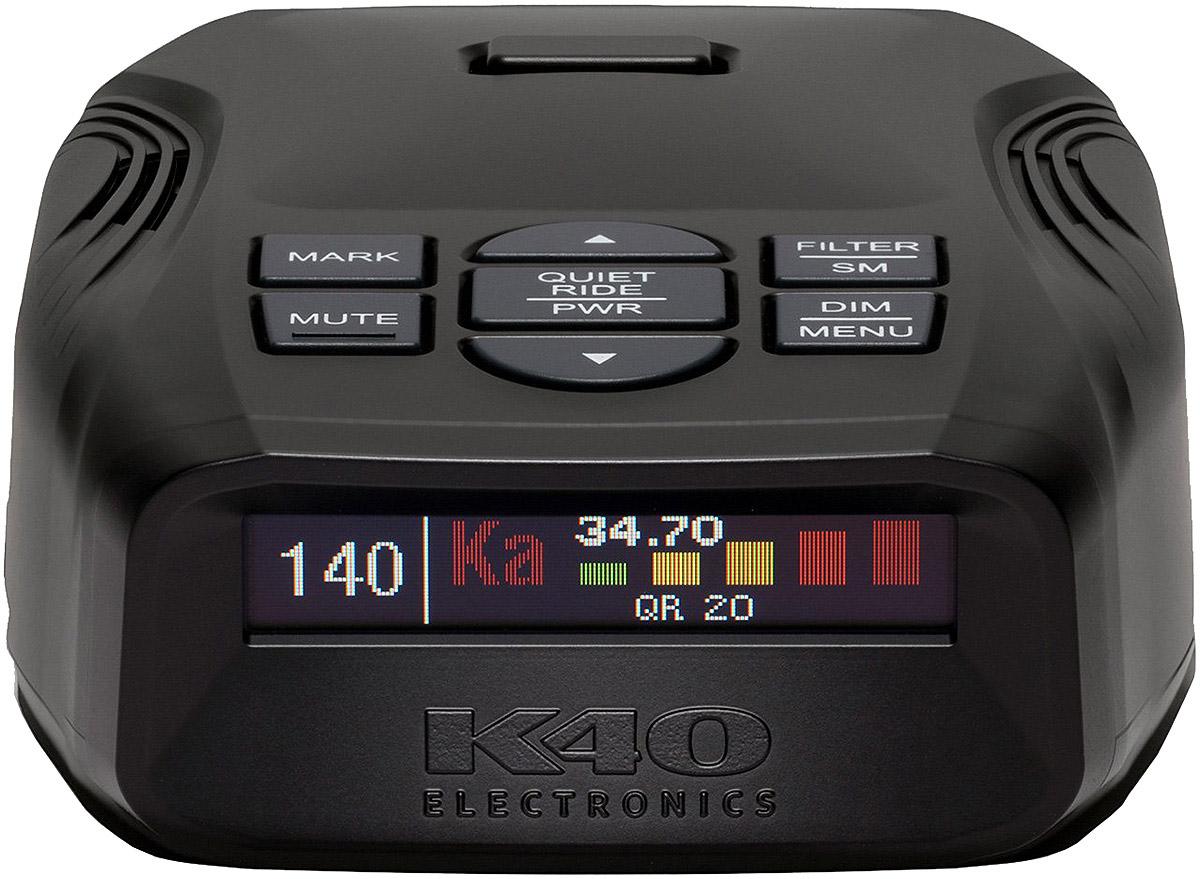 K40 Platinum100 radar detector