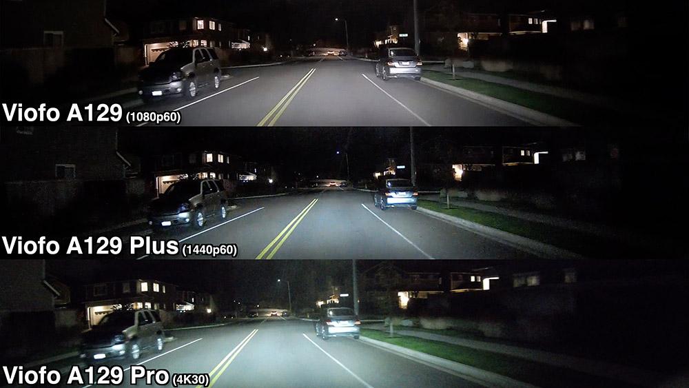A129 Night Comparison
