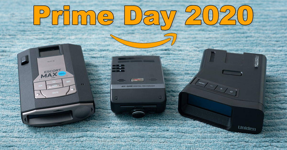 Amazon Prime Day Deals 2020: Radar Detectors & Dashcams