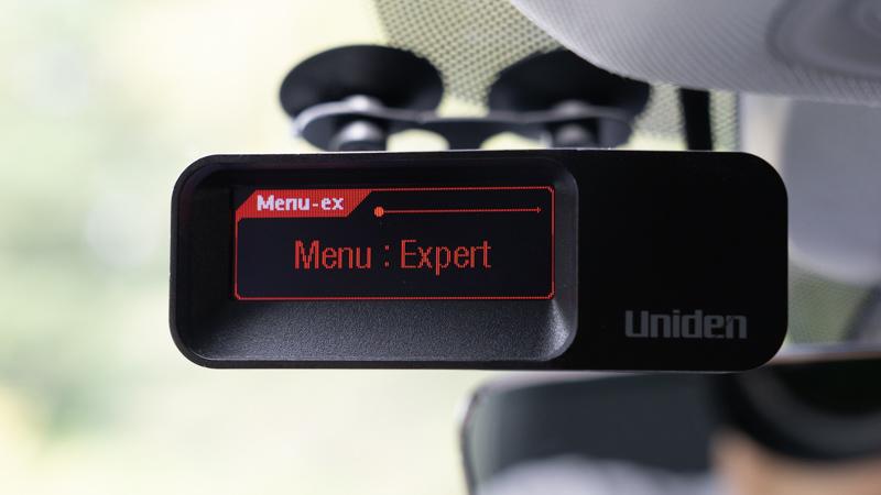 Uniden R7 Expert Mode