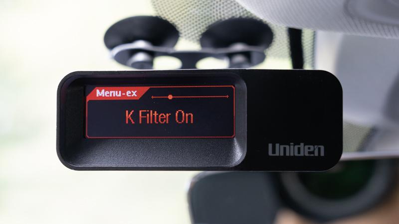 Uniden R7 K Filter