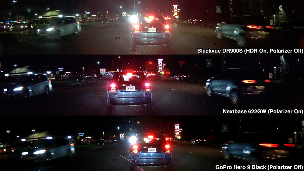DR900S 622GW GoPro9 Night Comparison Polarizers Off