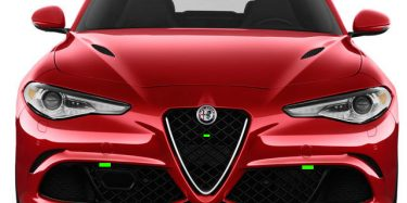 Alfa Romeo Guilia Front ALP Placement