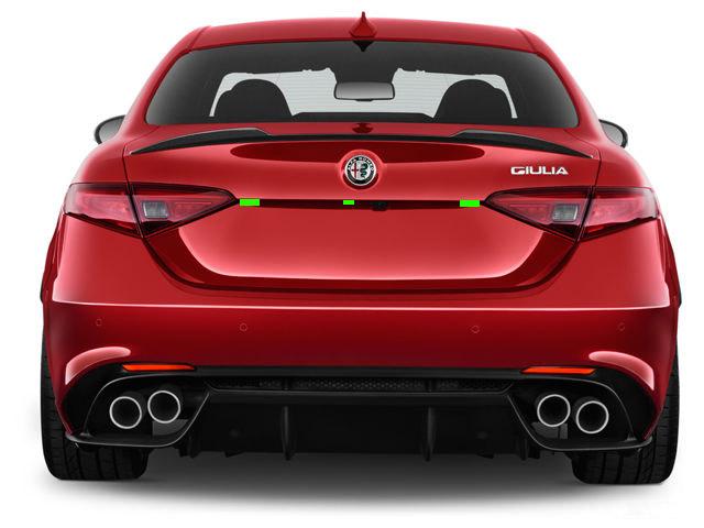 Alfa Romeo Giulia Rear ALP Placement