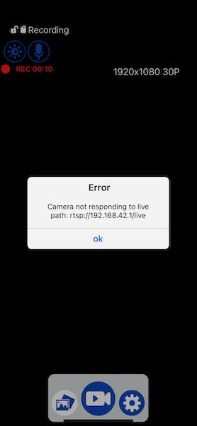 Cobra Road Scout app error