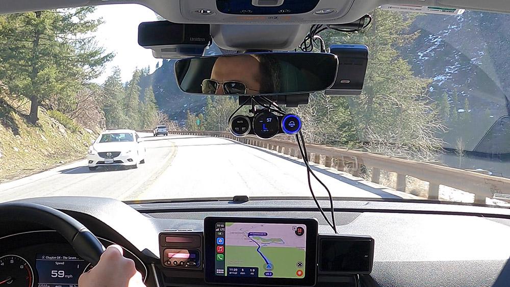 Cobra Road Scout laser false