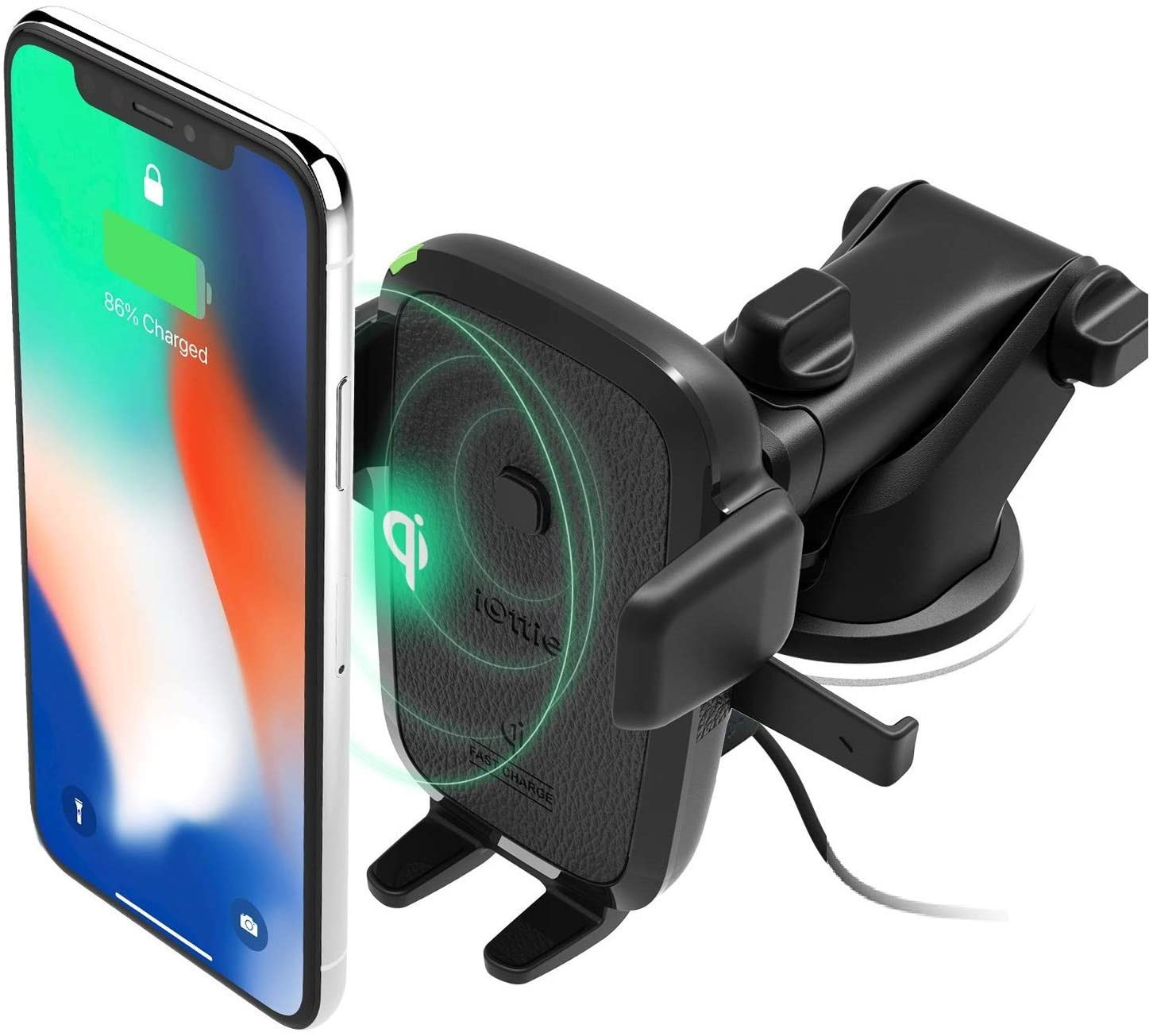 iOttie Qi Wireless Charging Phone Mount